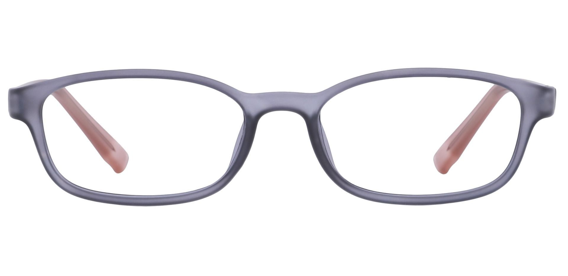 Kia Oval Single Vision Glasses - Grey Matte