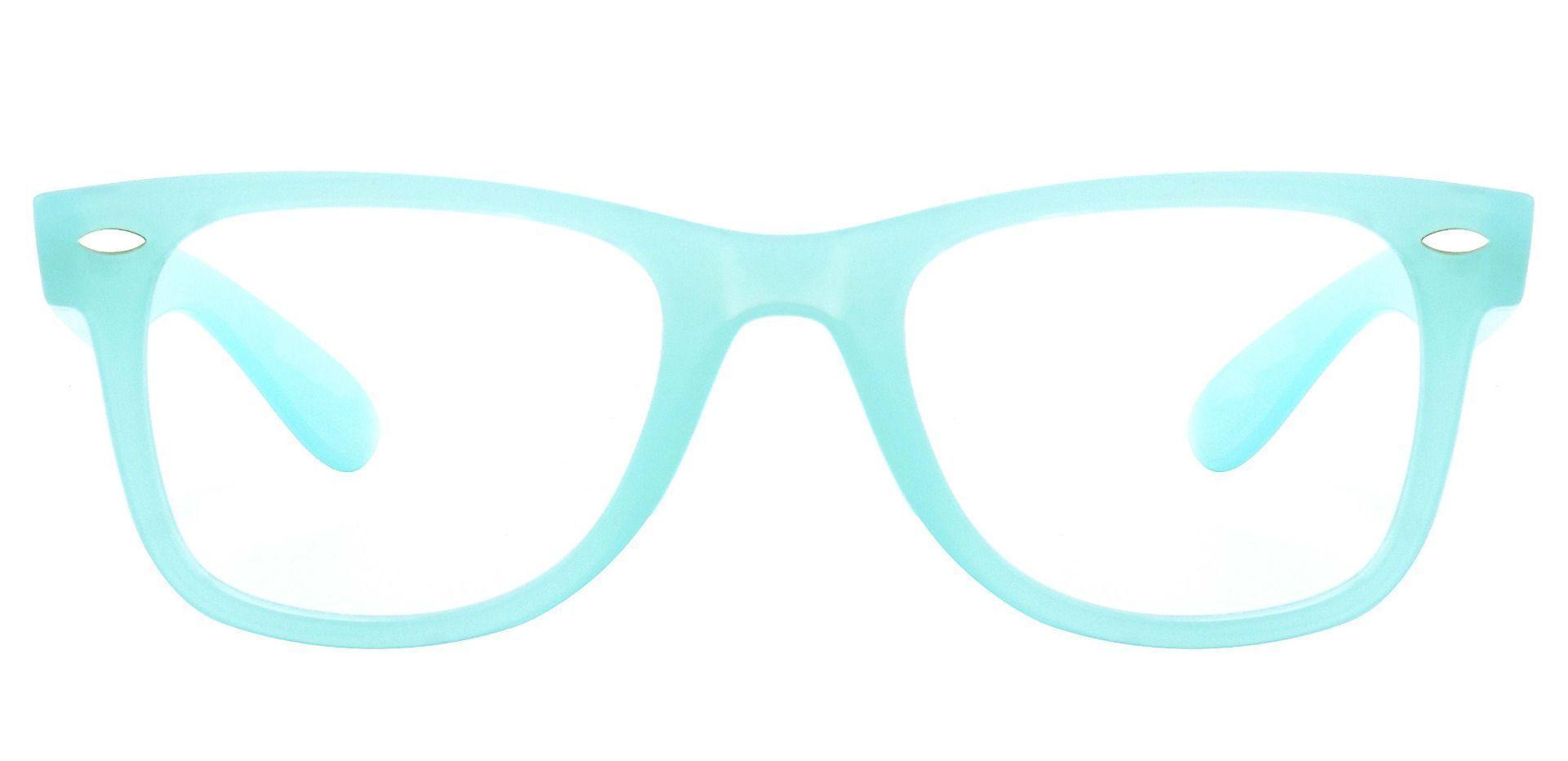 Adrian Square Prescription Glasses - Blue