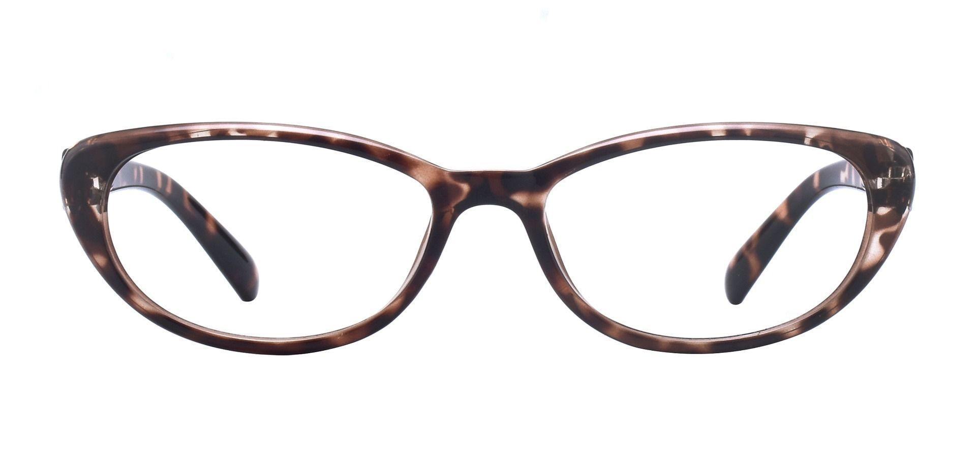 Iona Cat-Eye Prescription Glasses - Crystal Tortoise