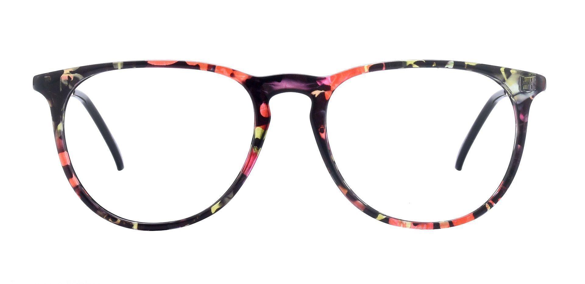 Harriett Oval Prescription Glasses - Floral