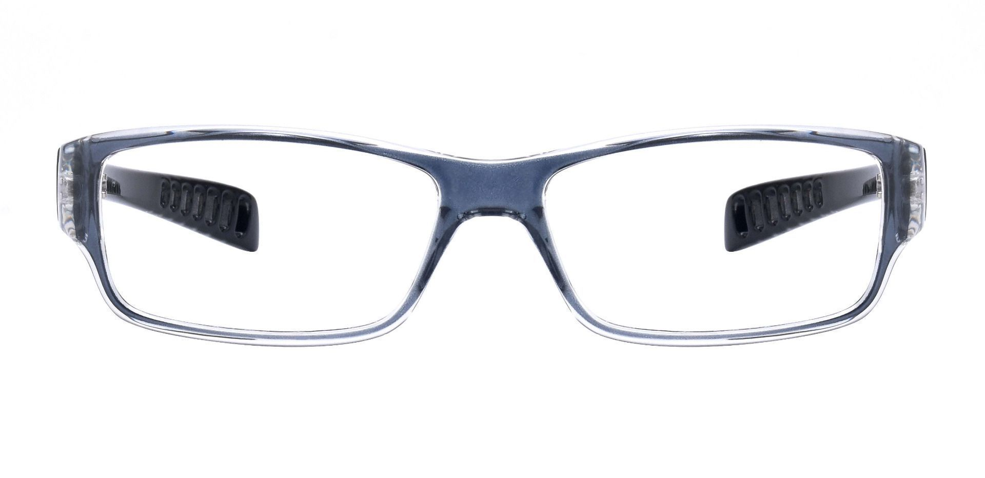 Mercury Rectangle Prescription Glasses - Gray