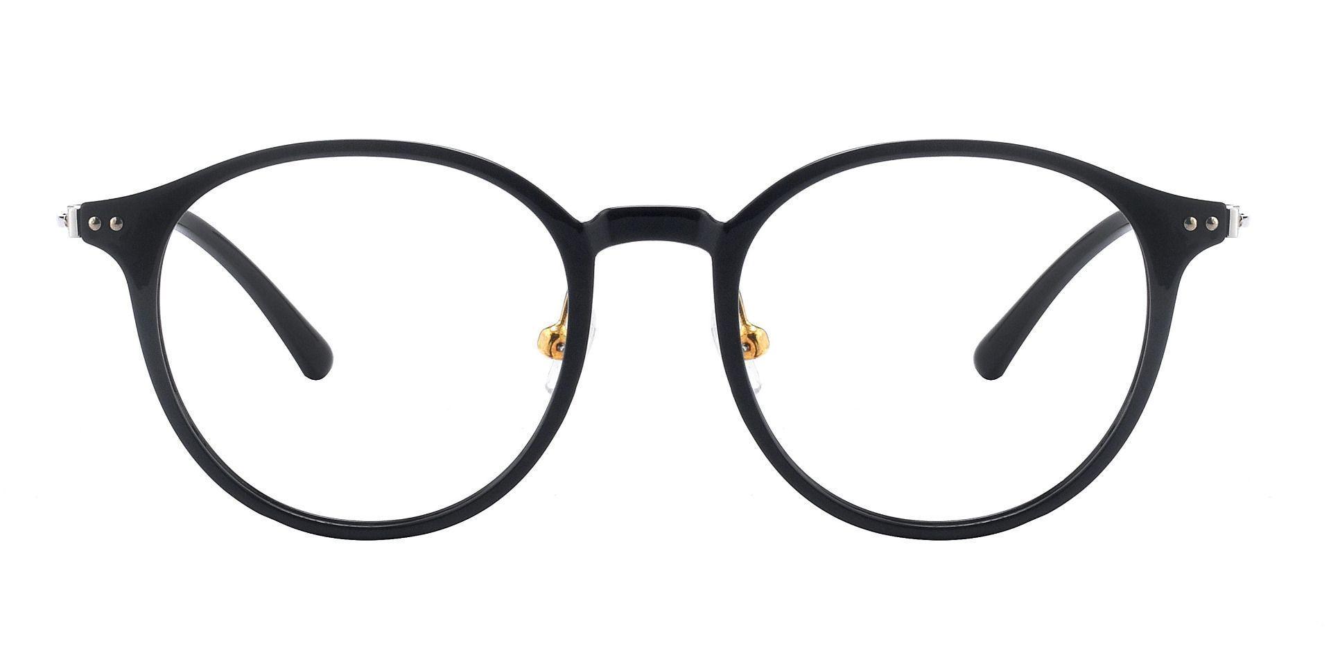 Meyer Round Prescription Glasses - Black
