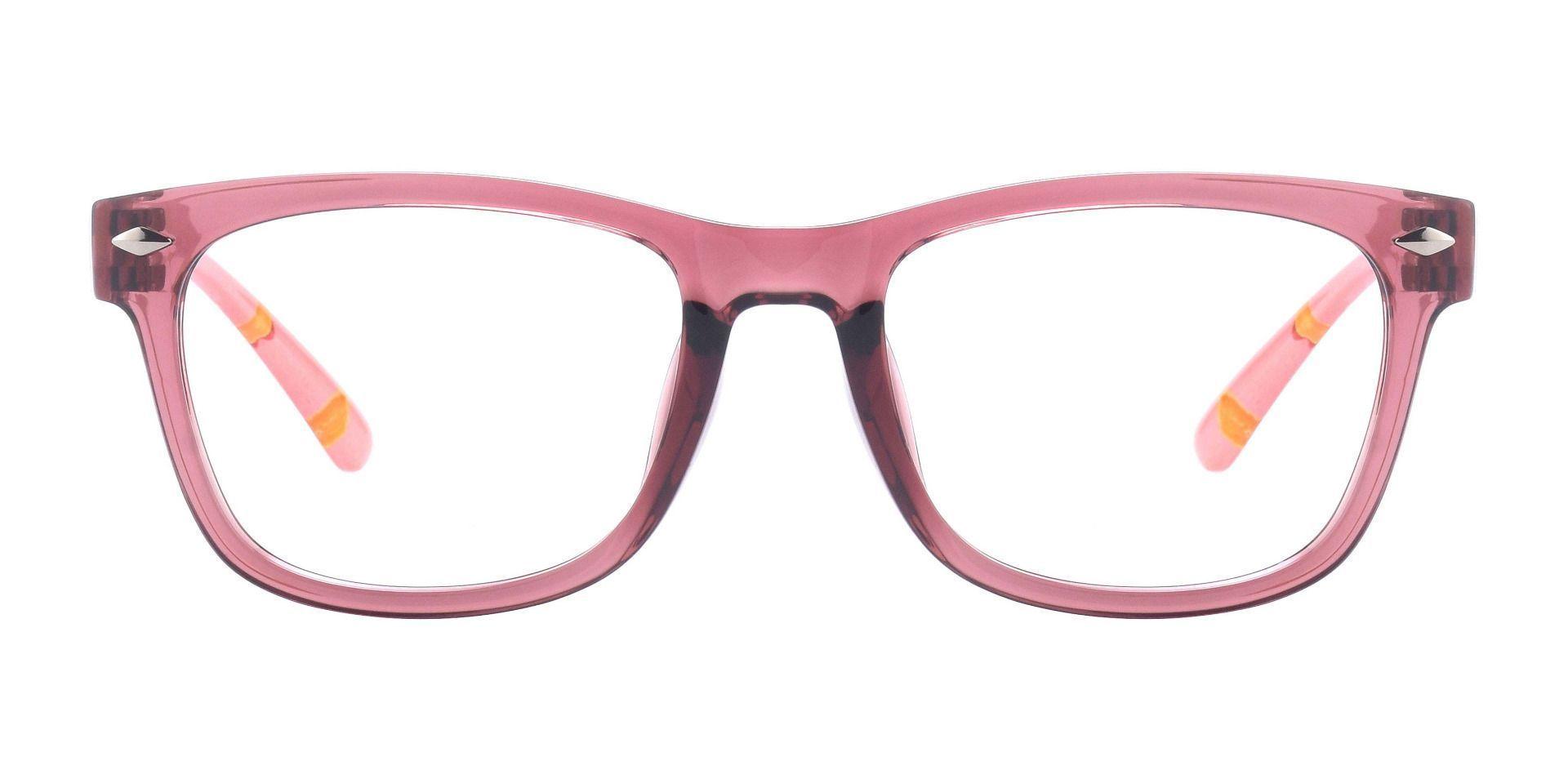 Tessa Classic Square Prescription Glasses - Pink