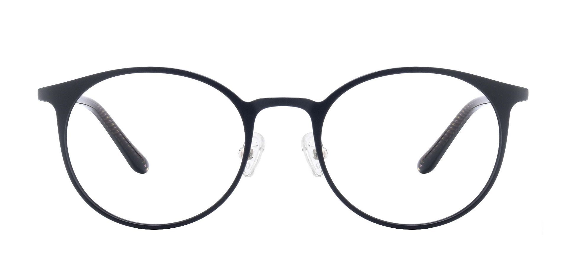 Rivera Oval Prescription Glasses - Black