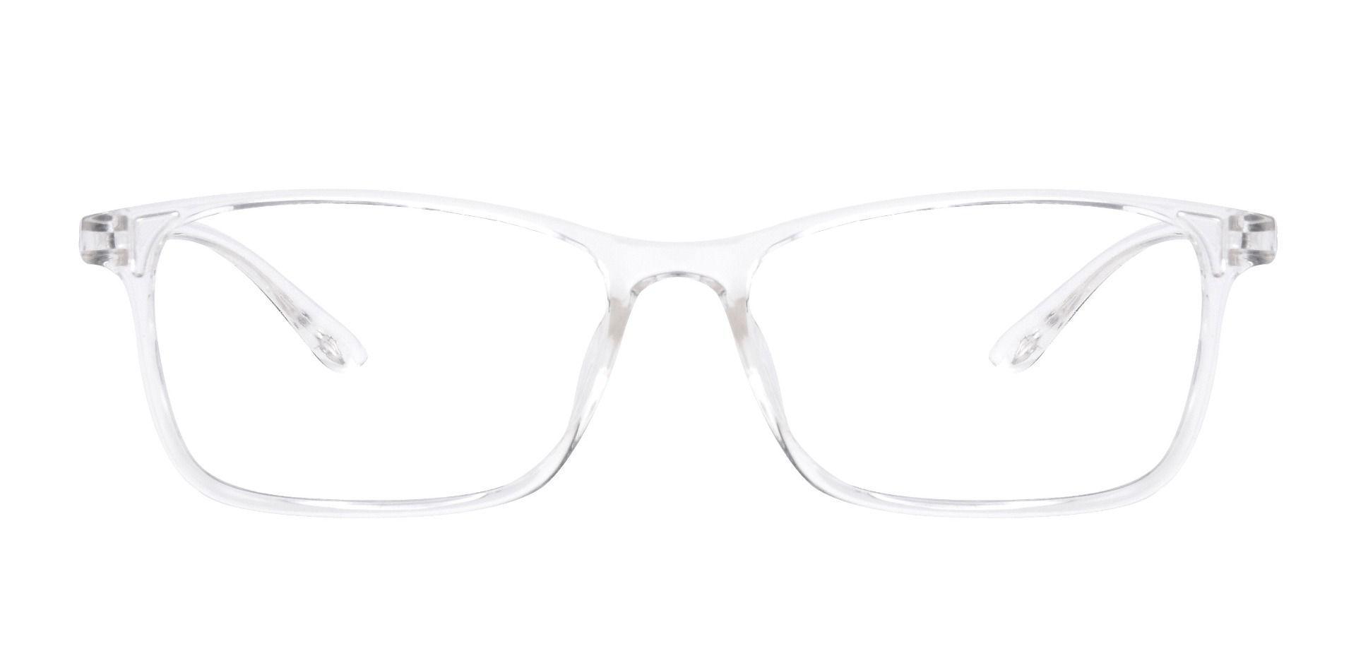 Luna Rectangle Prescription Glasses - Pink