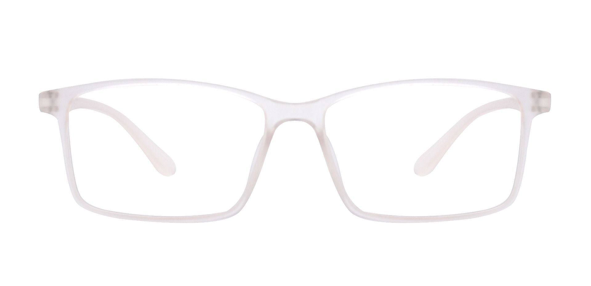 Horizon Rectangle Prescription Glasses - Crystal To Grey