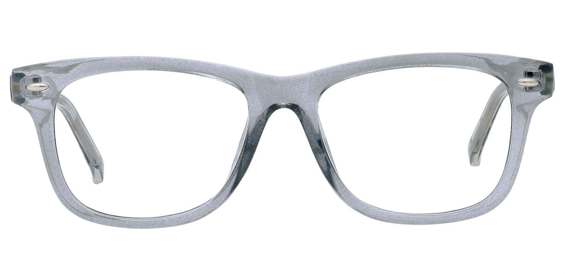 Dexter Oval Prescription Glasses - Gray