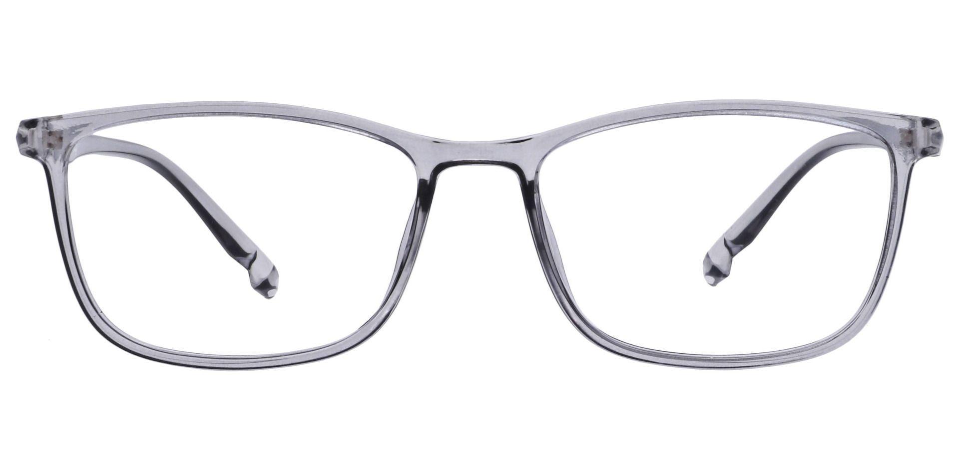 Harvest Rectangle Non-Rx Glasses - Gray