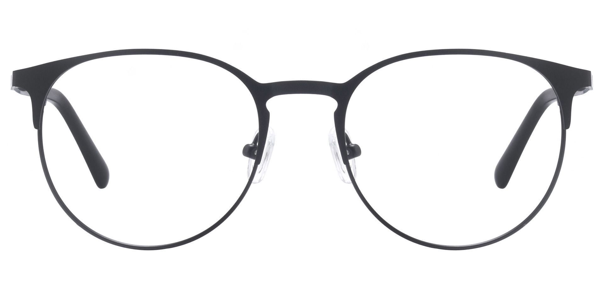 Dawn Oval Prescription Glasses - Matte Black