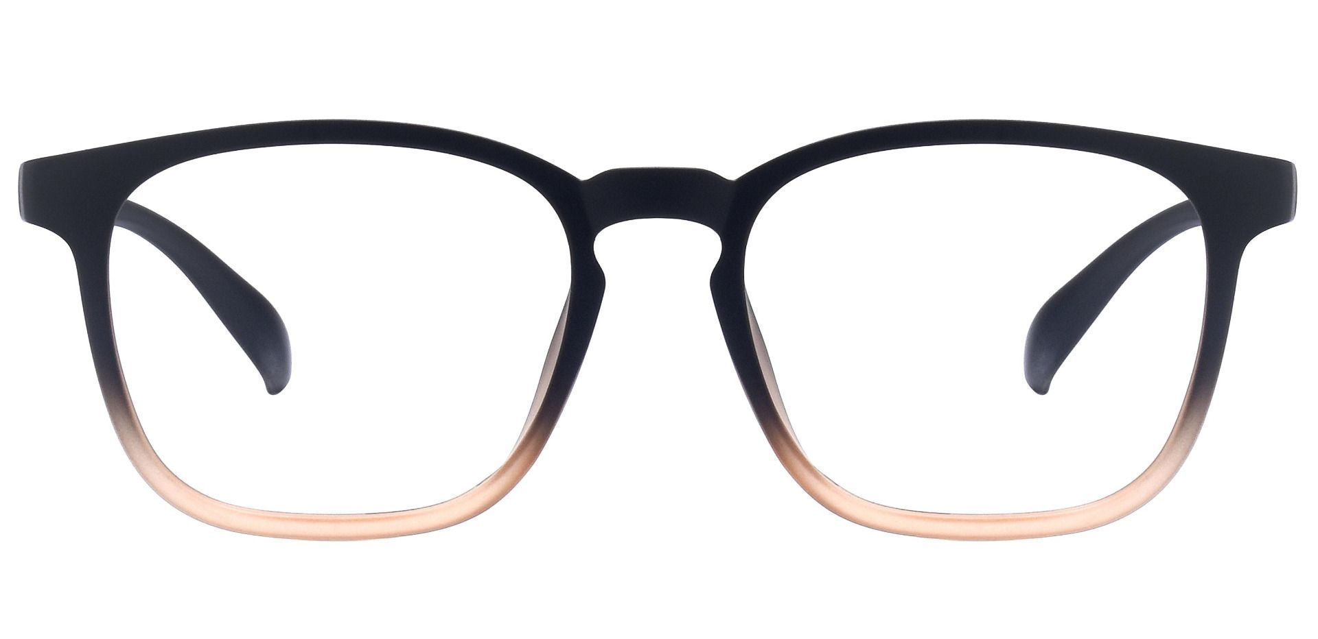 Dusk Classic Square Prescription Glasses - Brown