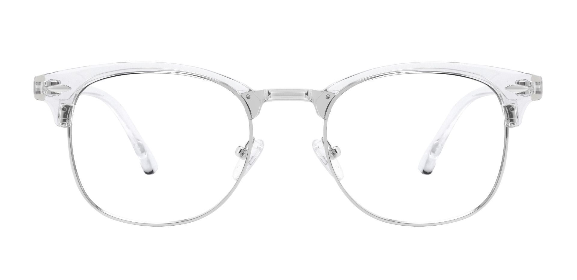 Salvatore Browline Prescription Glasses - Clear