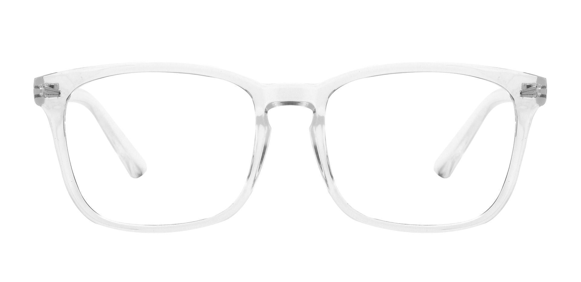 Zen Square Prescription Glasses - Clear