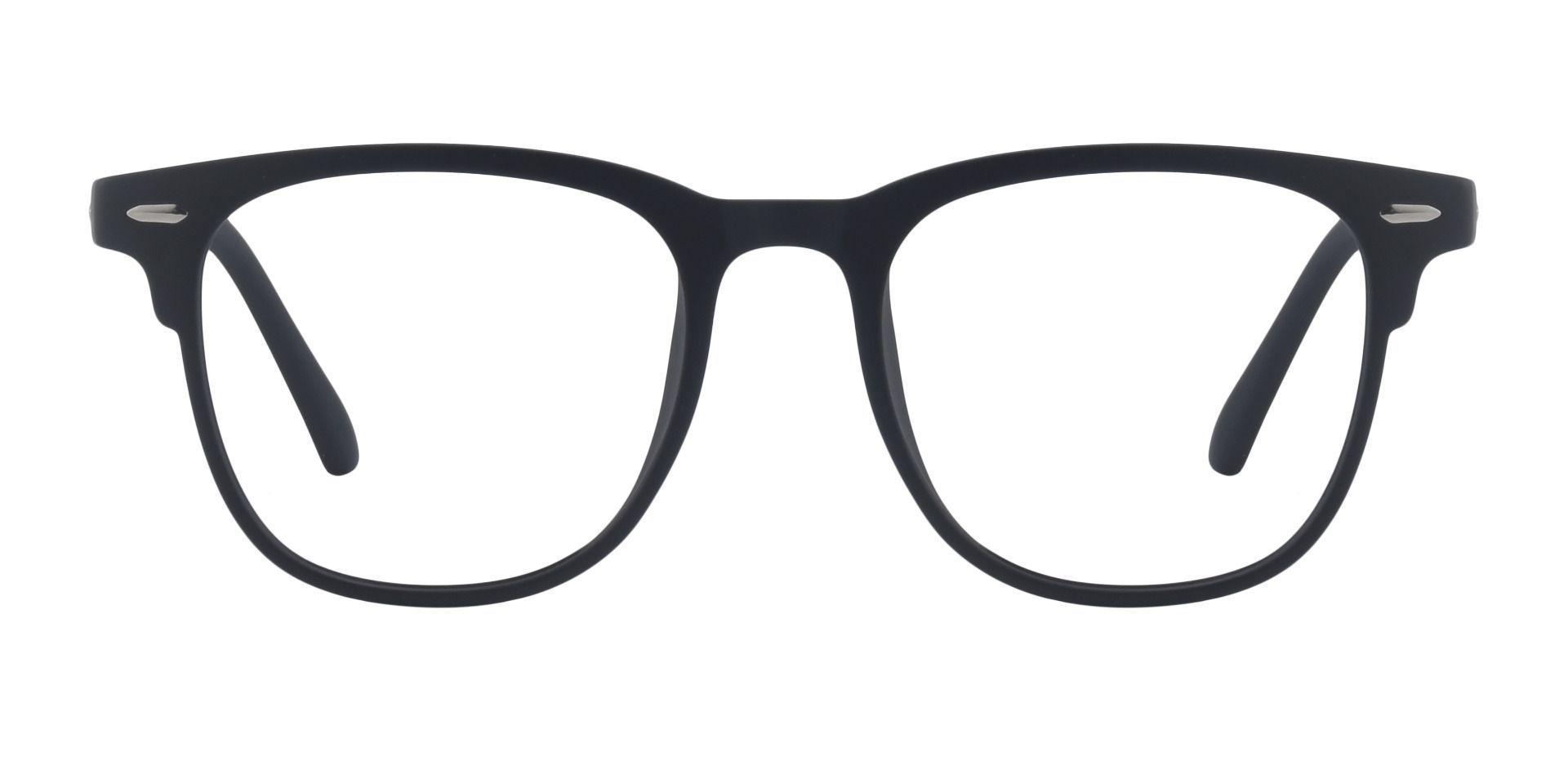 Bento Square Prescription Glasses - Matte Black