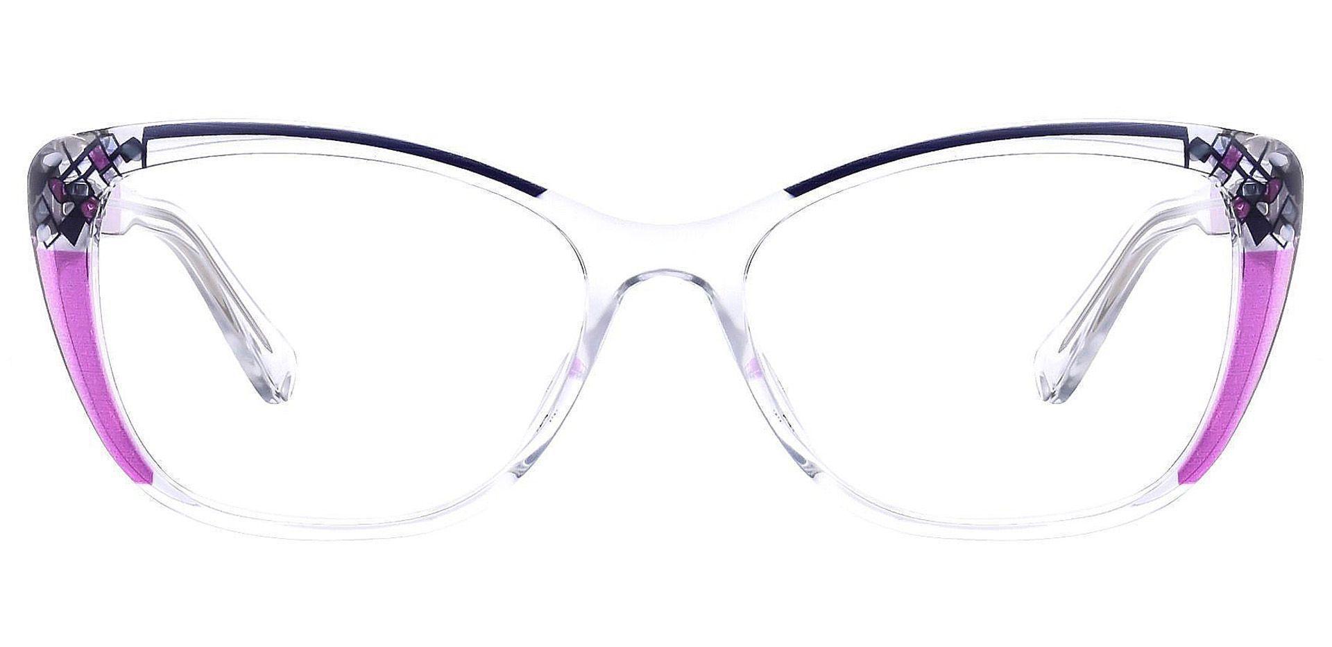 Marina Cat Eye Prescription Glasses - Purple
