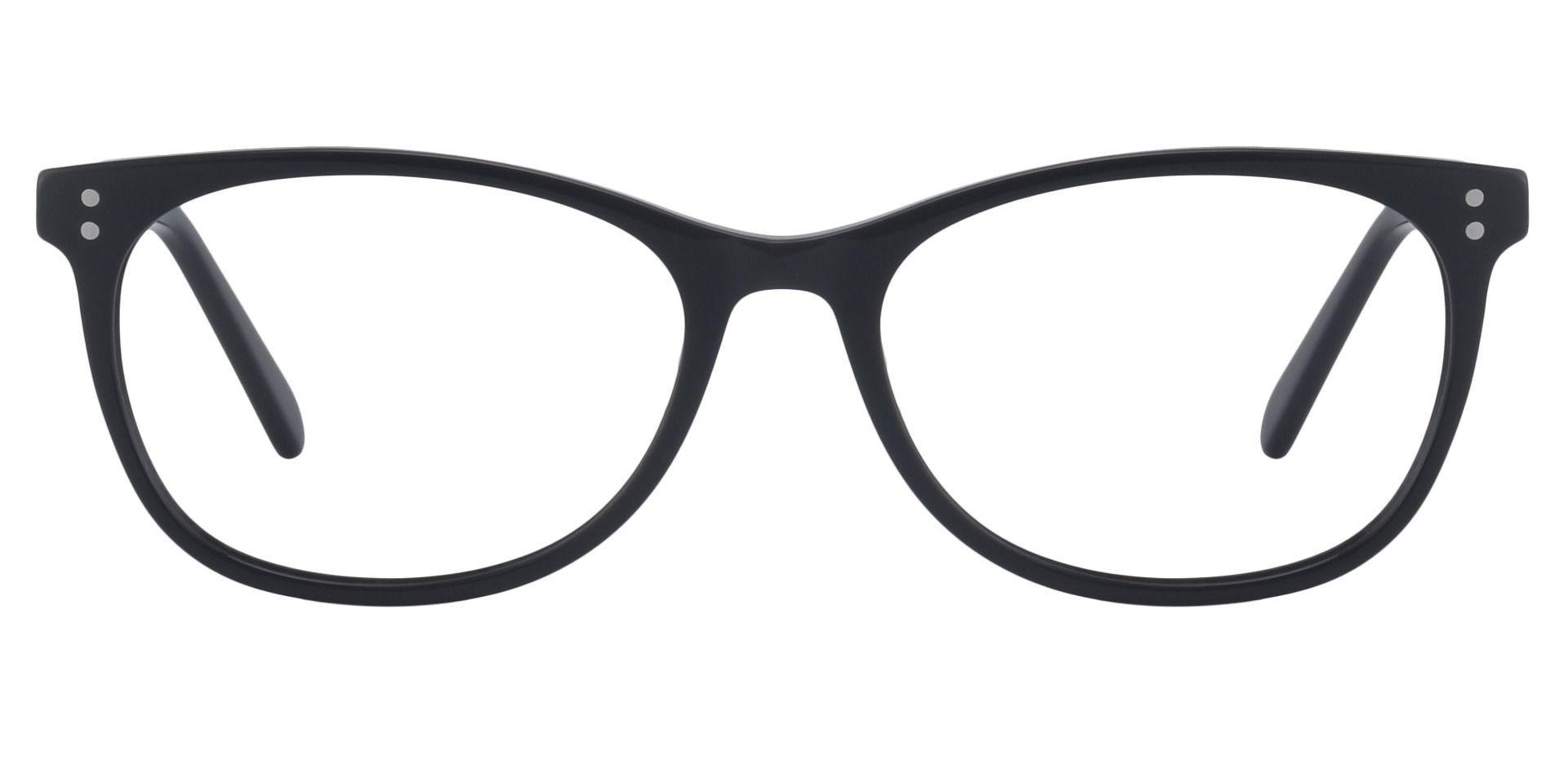 Laguna Rectangle Prescription Glasses - Black