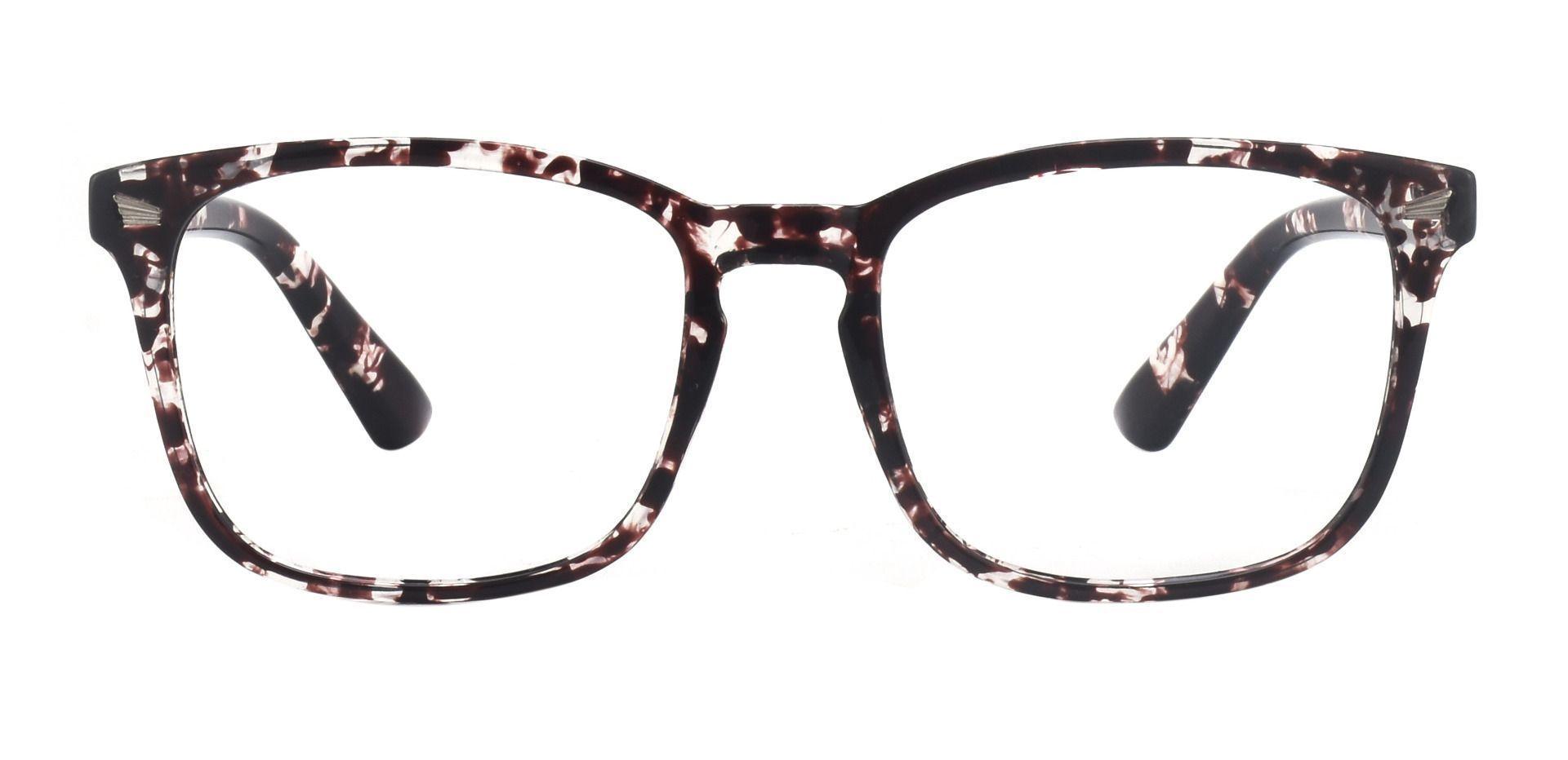 Rogan Square Prescription Glasses - Two-tone