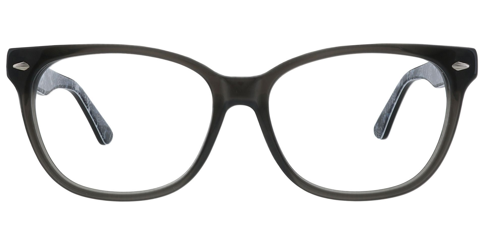 Patton Rectangle Prescription Glasses - Black