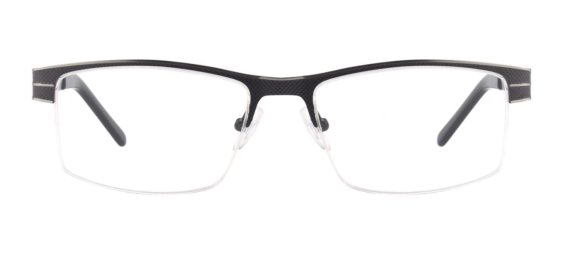 March Rectangle Prescription Glasses - Gray