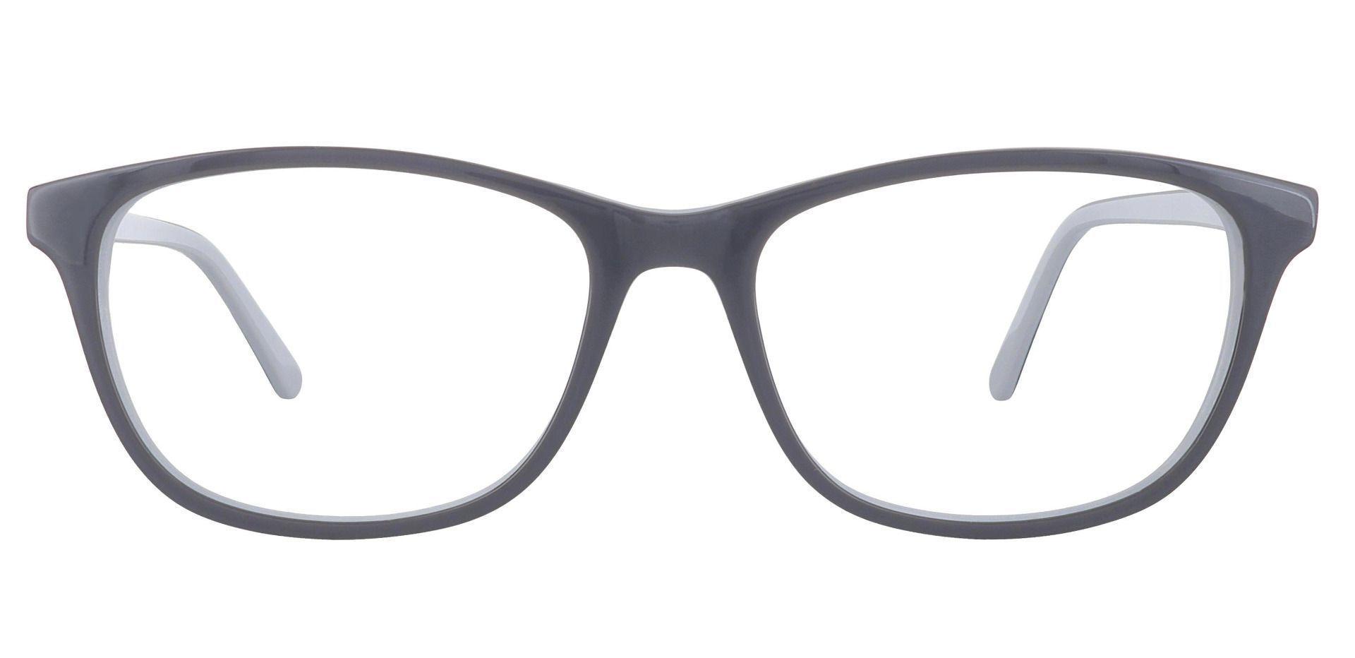 Valor Rectangle Prescription Glasses - Gray