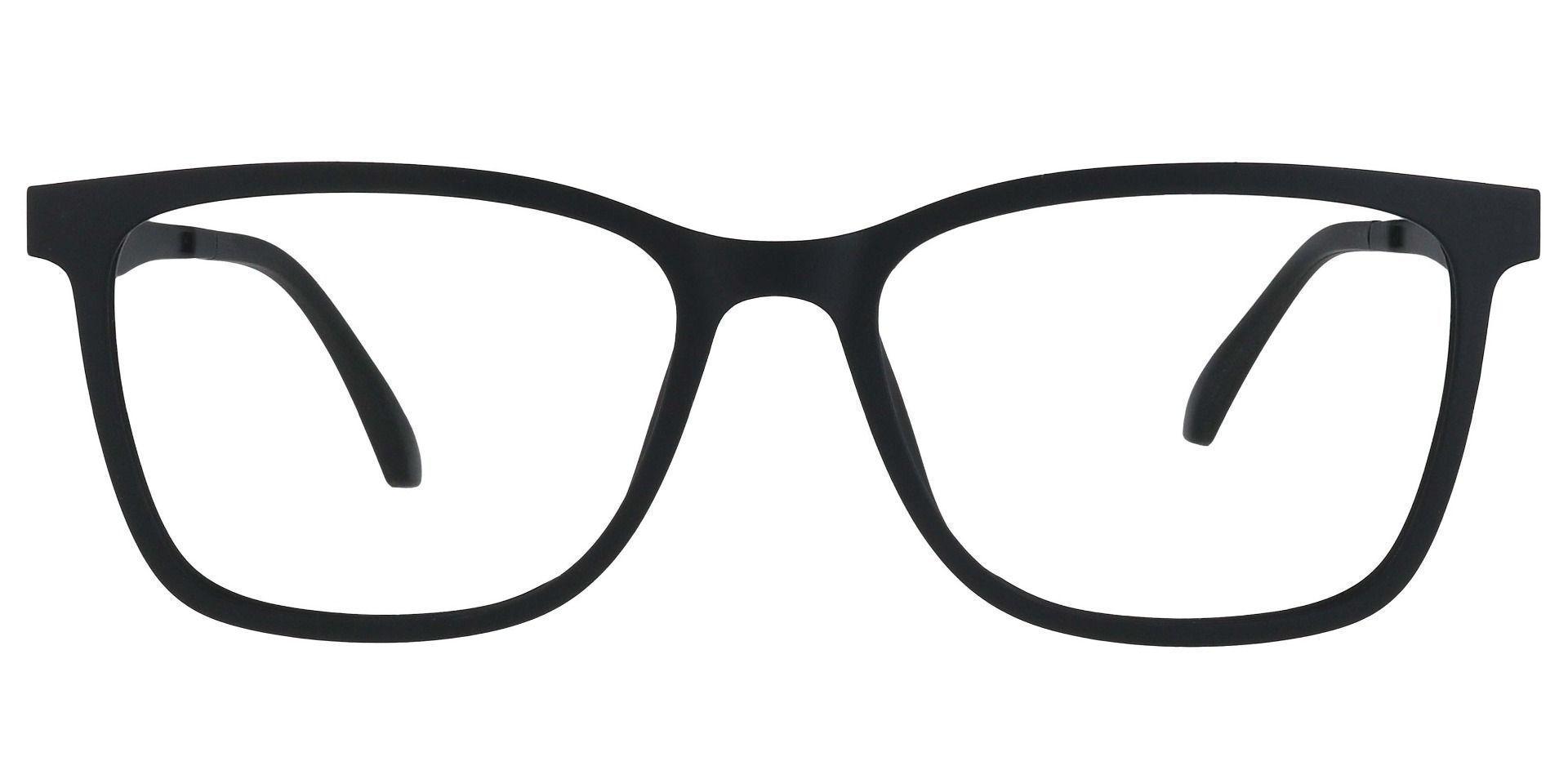 Salem Rectangle Prescription Glasses - Black