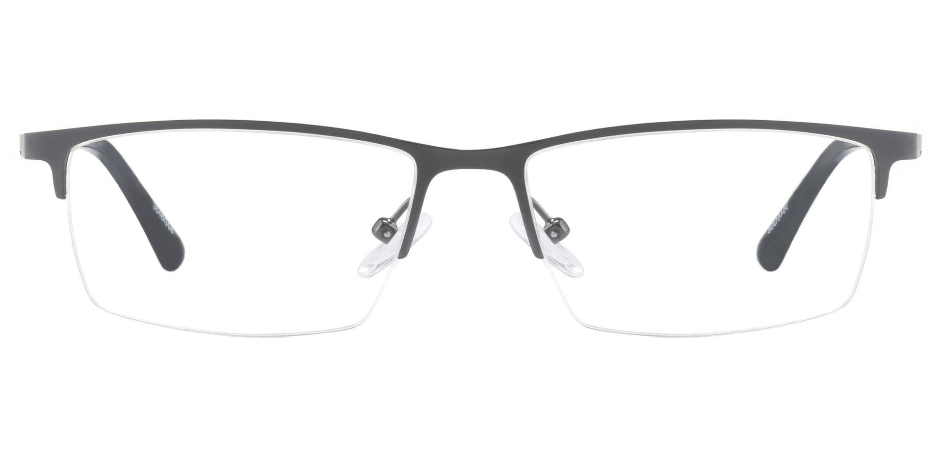 Lombard Rectangle Lined Bifocal Glasses - Gray