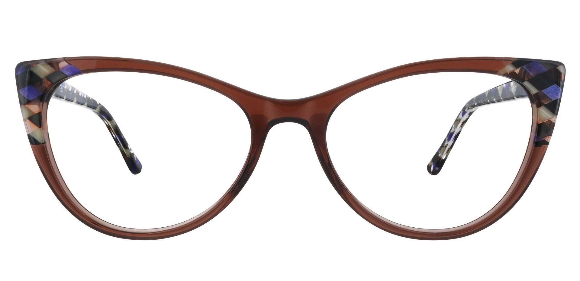 Mavis Cat Eye Prescription Glasses - Purple