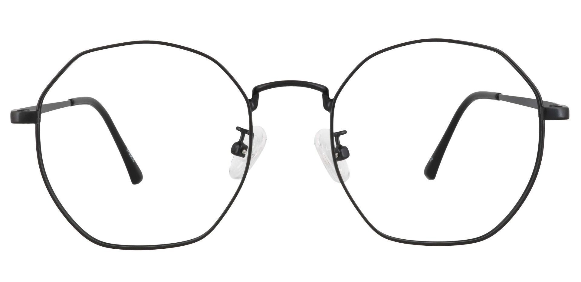 Karina Geometric Prescription Glasses - Black