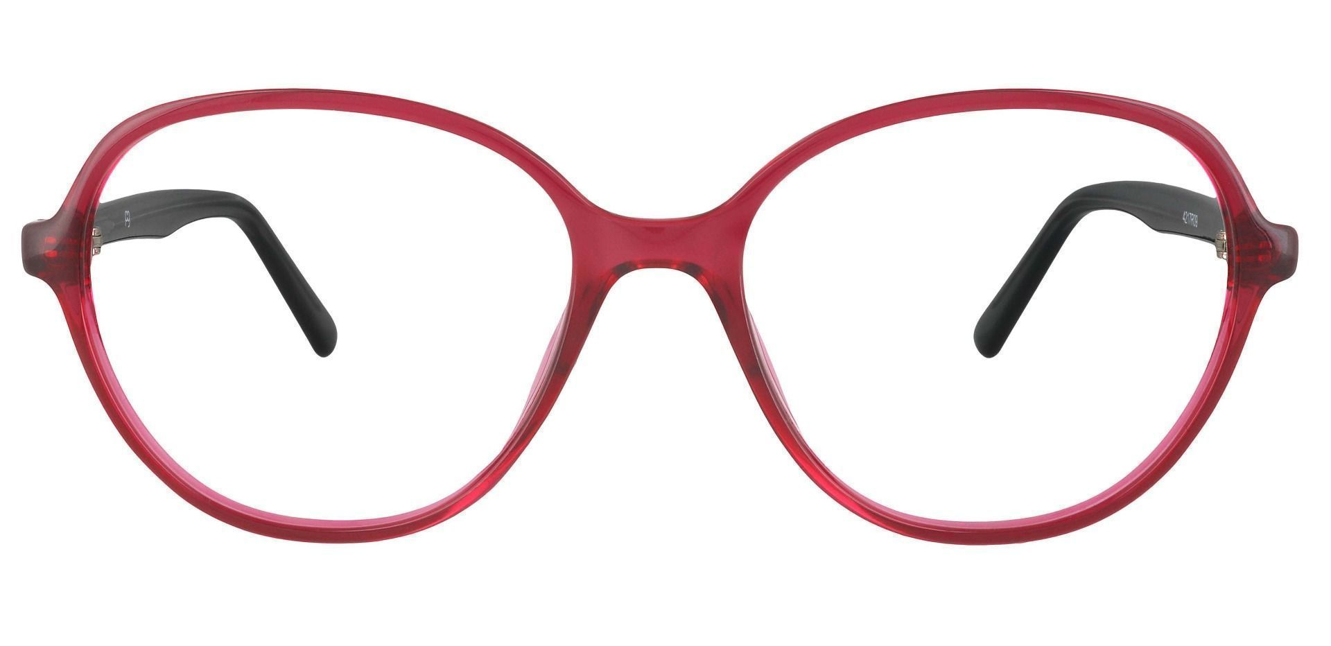 Luella Oval Prescription Glasses - Red