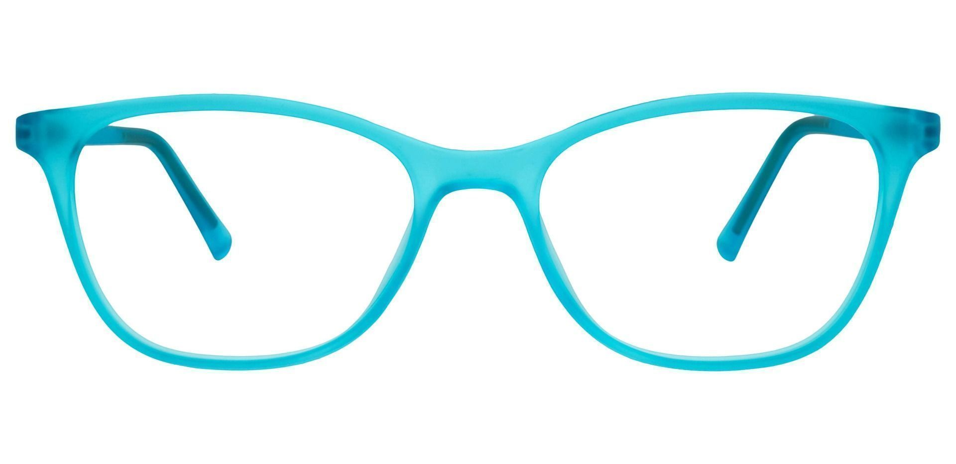 Sasha Classic Square Prescription Glasses - Blue