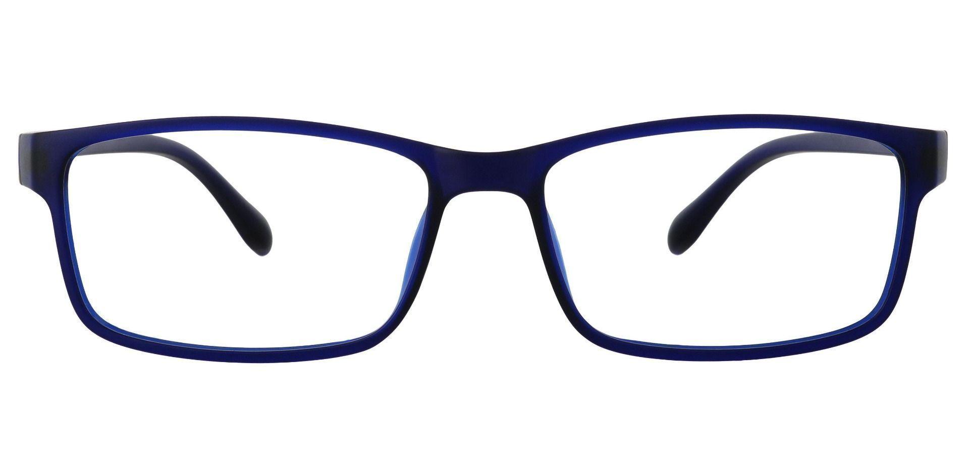 Candice Rectangle Prescription Glasses - Blue