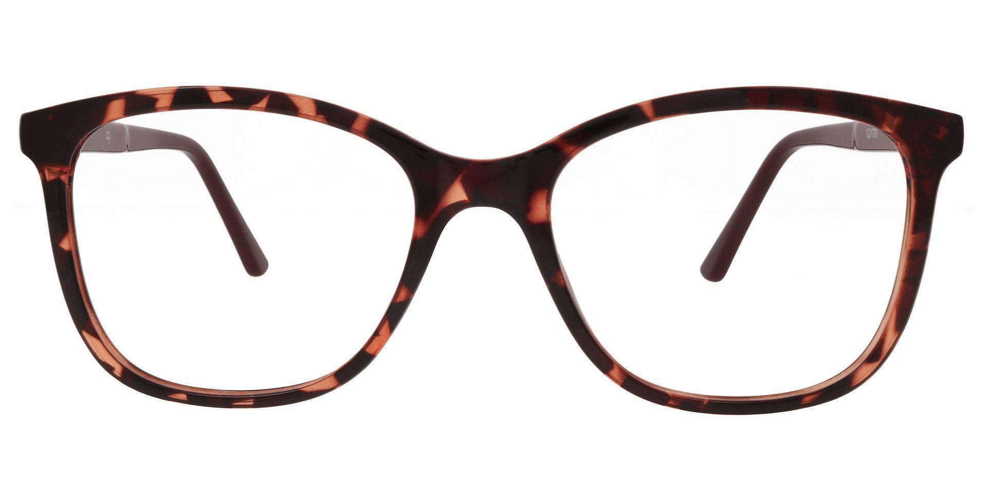 Halpin Square Prescription Glasses - Tortoise
