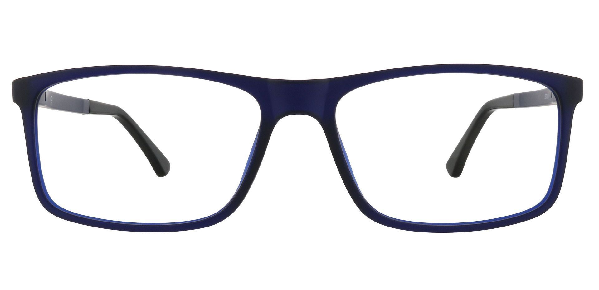 Montana Rectangle Prescription Glasses - Dark Navy