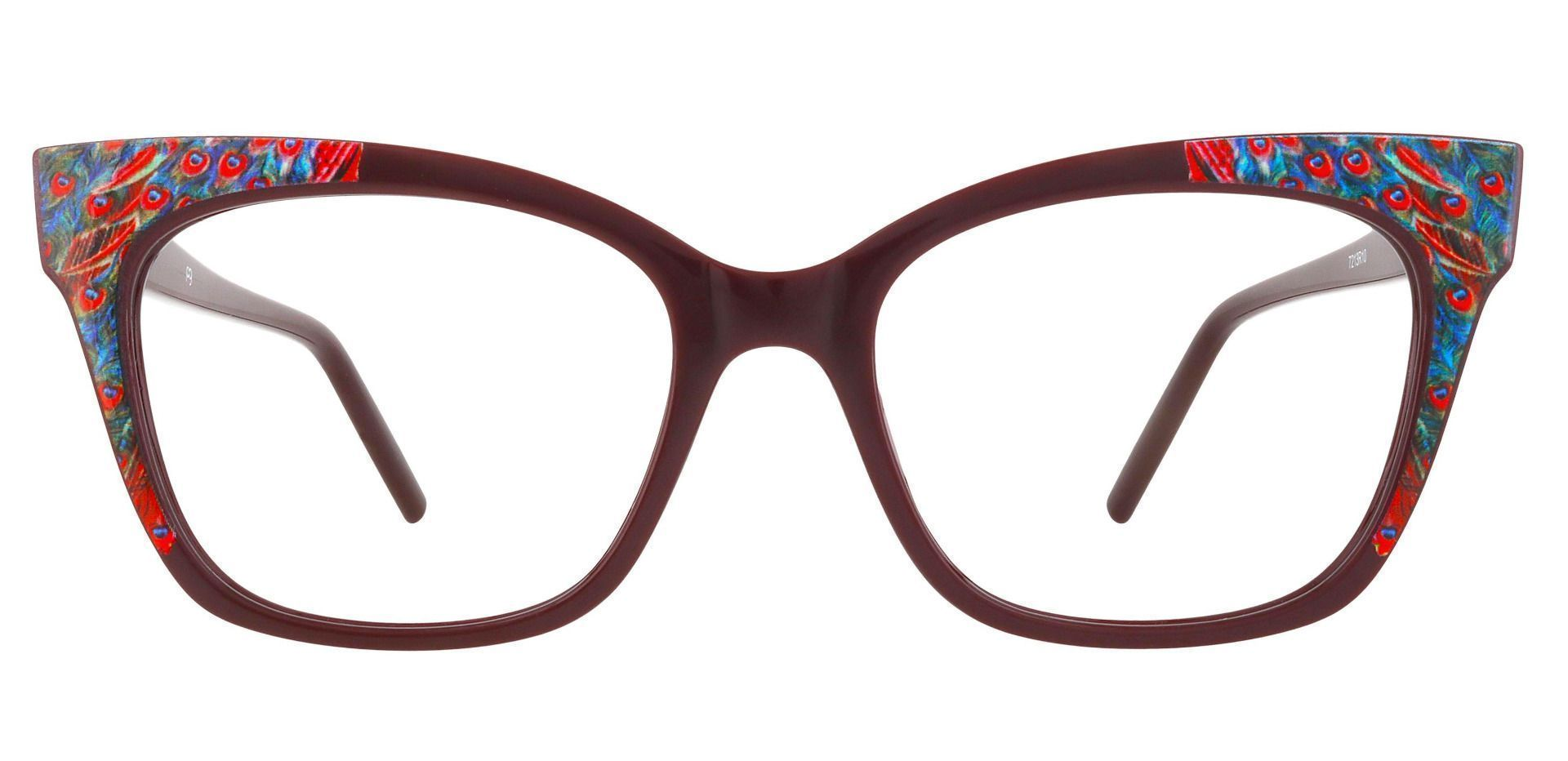 Hera Cat Eye Prescription Glasses - Red
