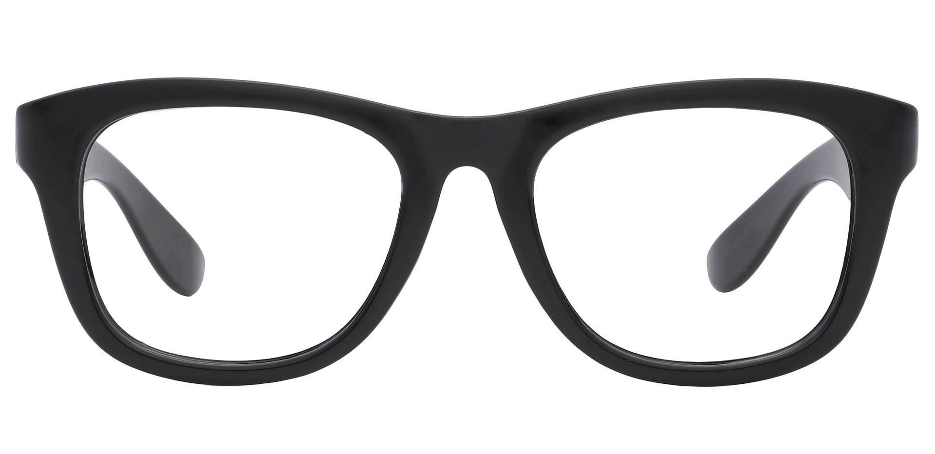Callie Square Lined Bifocal Glasses - Black