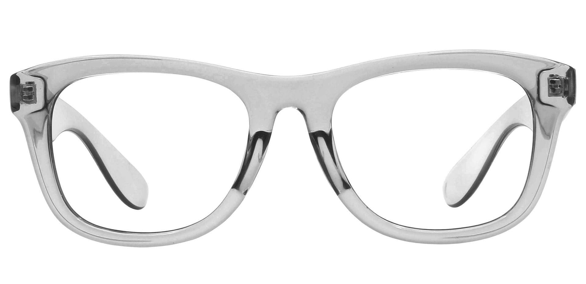 Tyre Square Blue Light Blocking Glasses - Gray
