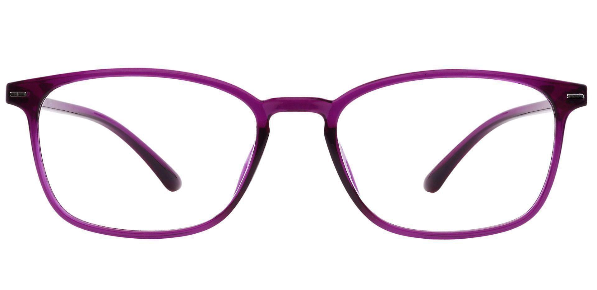 Cabo Oval Non-Rx Glasses - Grape