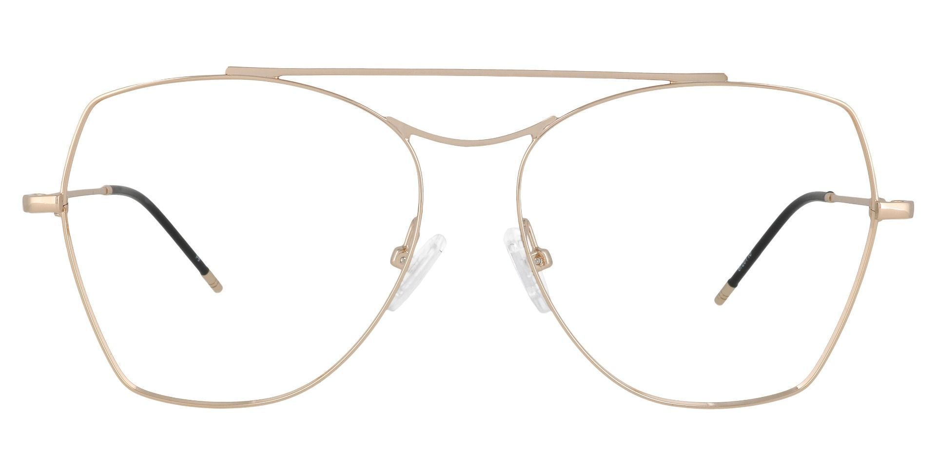Blaine Aviator Prescription Glasses - Yellow