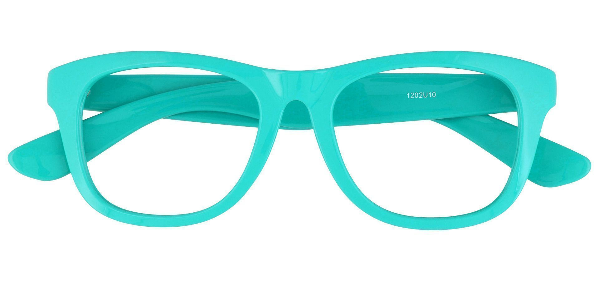 Tyre Square Blue Light Blocking Glasses - Blue