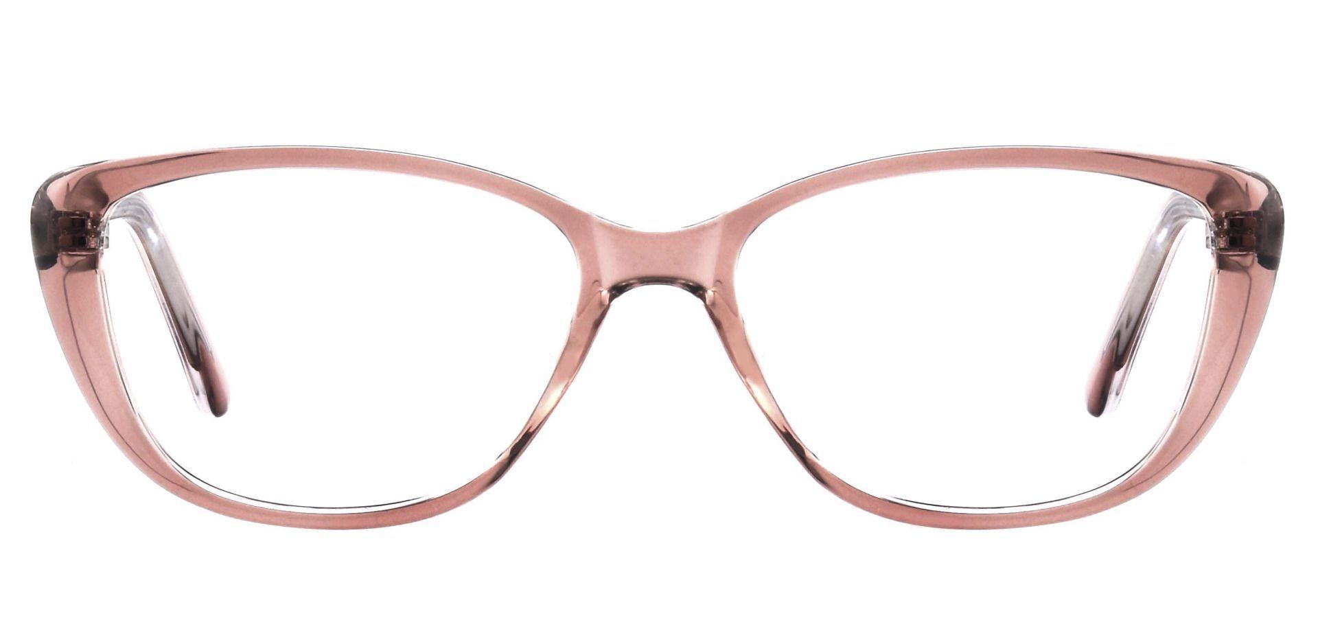 Sicily Cat Eye Prescription Glasses - Brown