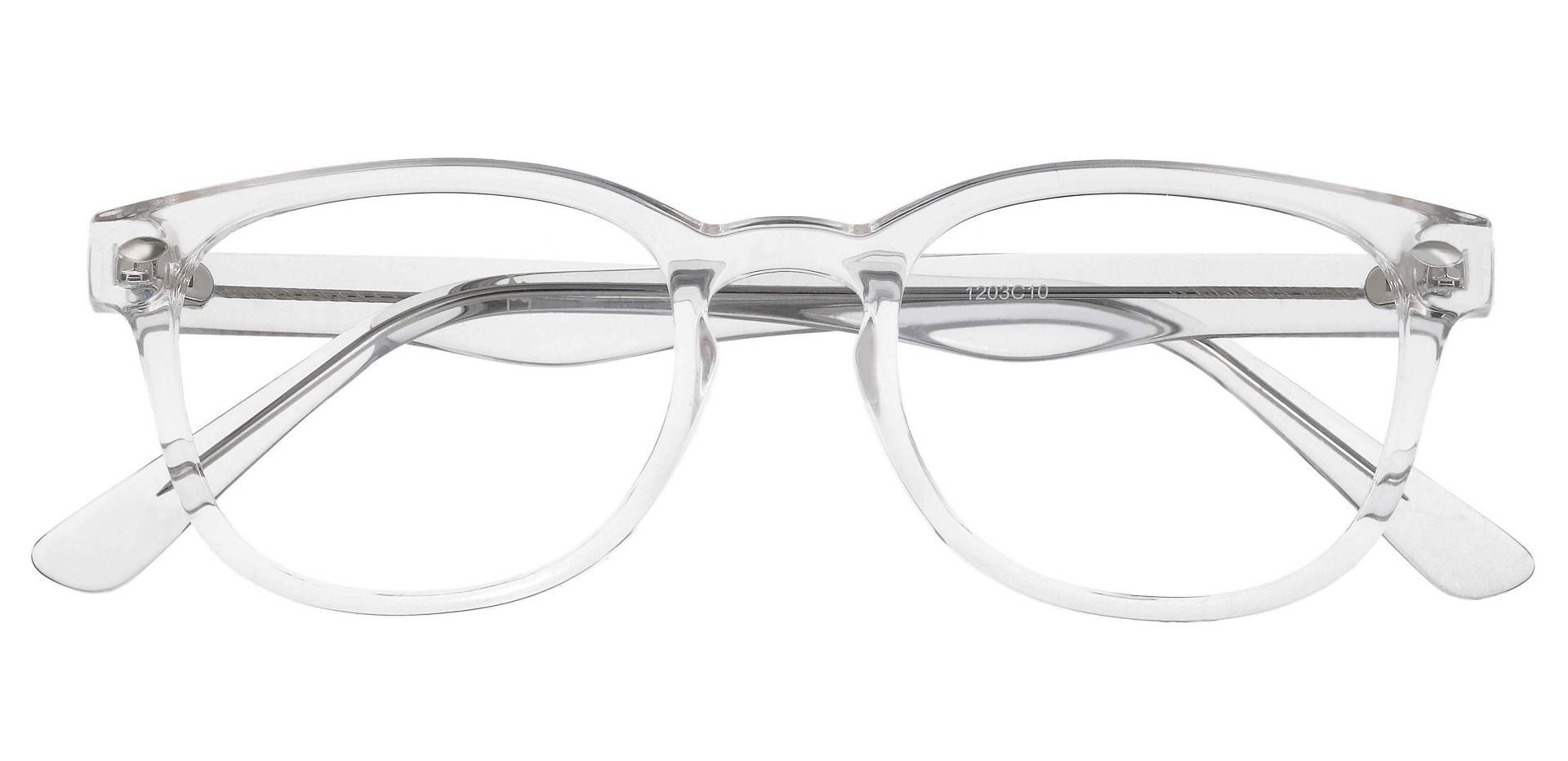 Swirl Classic Square Blue Light Blocking Glasses - Clear