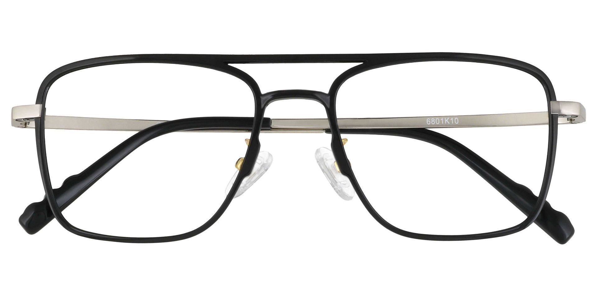 Largo Aviator Prescription Glasses - Black