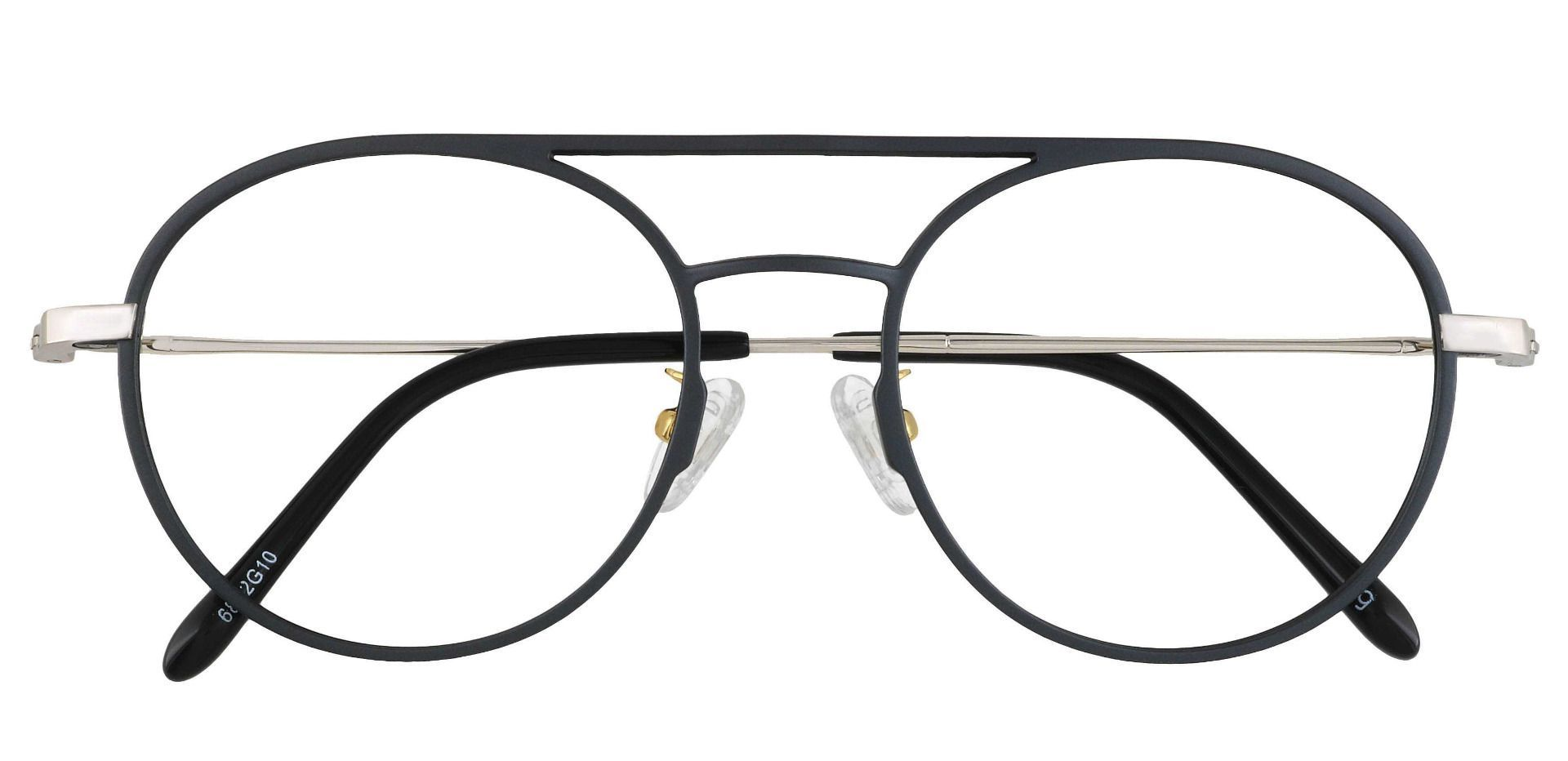 Carnaby Aviator Prescription Glasses - Gray