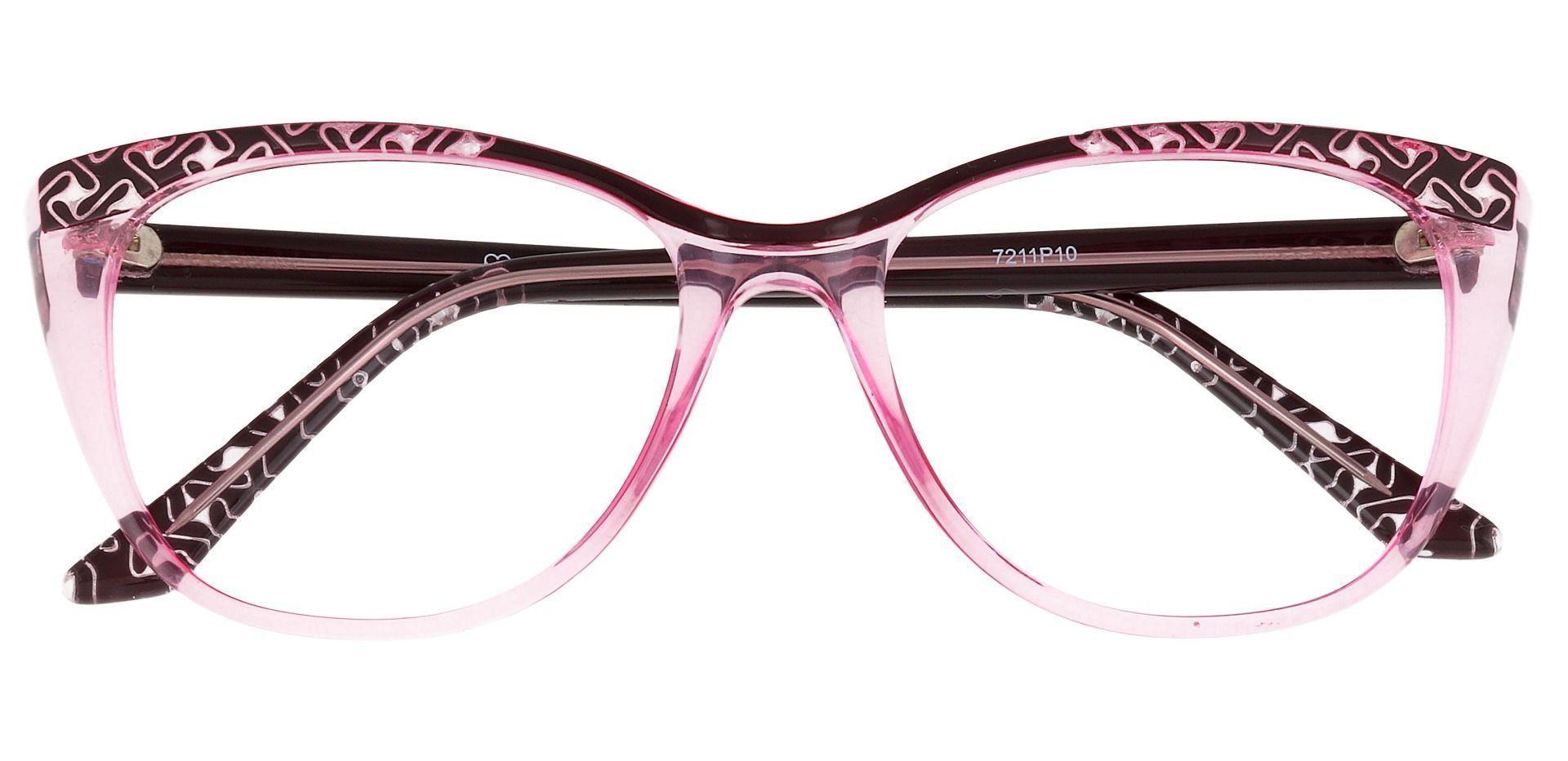 Alberta Cat Eye Prescription Glasses - Purple