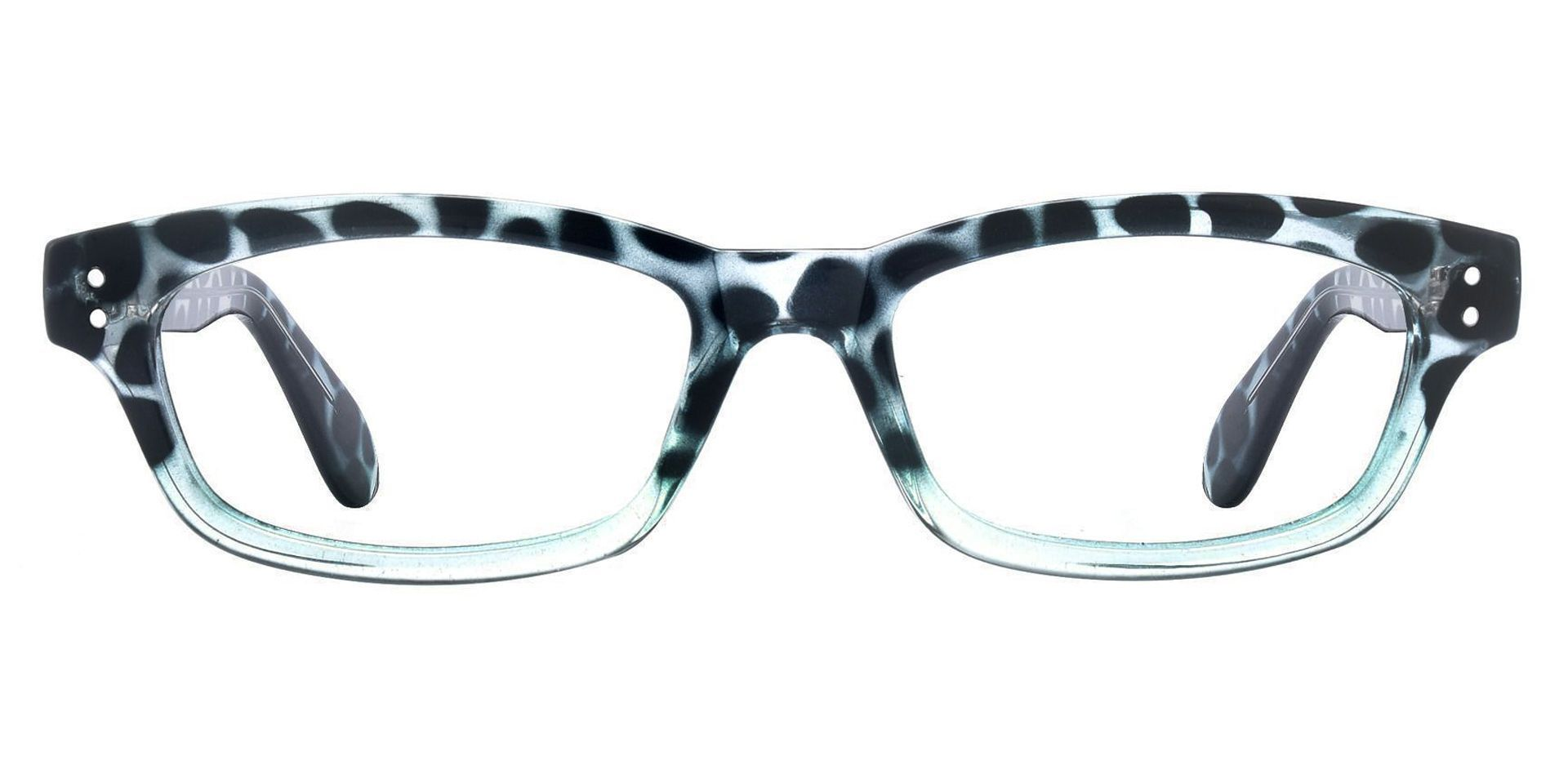 Panthera Rectangle Non-Rx Glasses - Blue