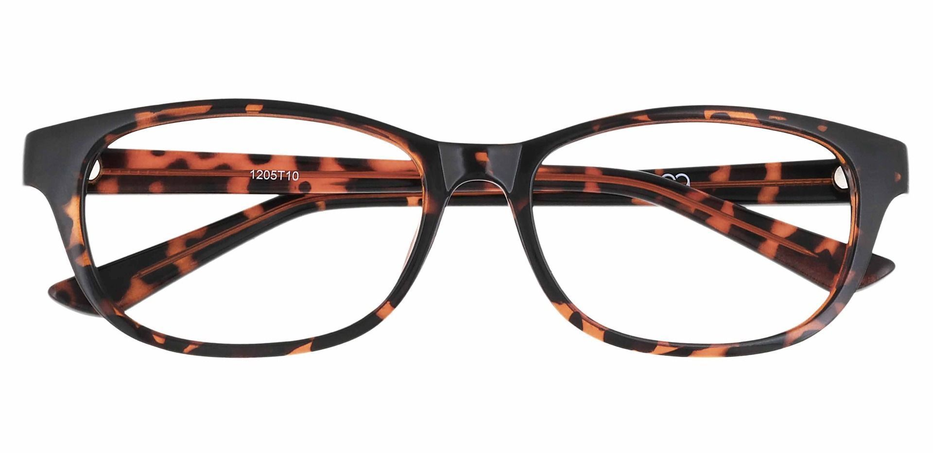 Reyna Classic Square Progressive Glasses - Tortoise
