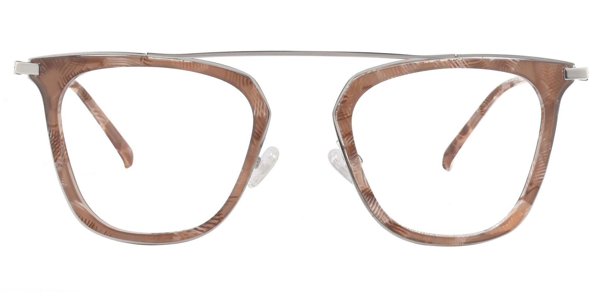Amarillo Aviator Prescription Glasses - Brown