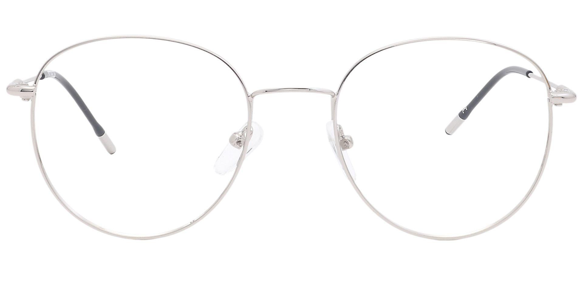 Keaton Oval Eyeglasses Frame - Gray