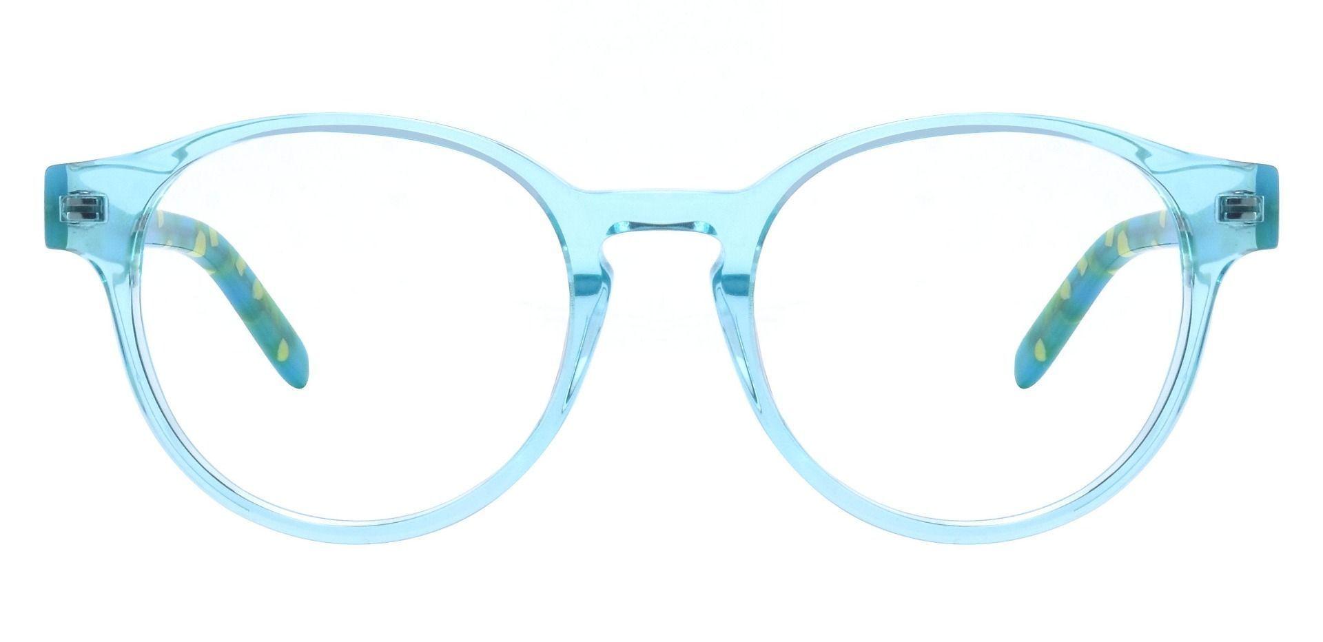 Harrison Round Prescription Glasses - Green