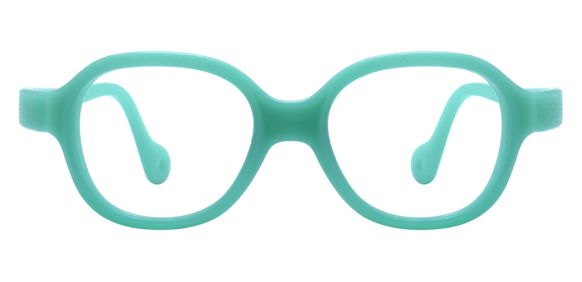 Oden Oval Prescription Glasses - Green