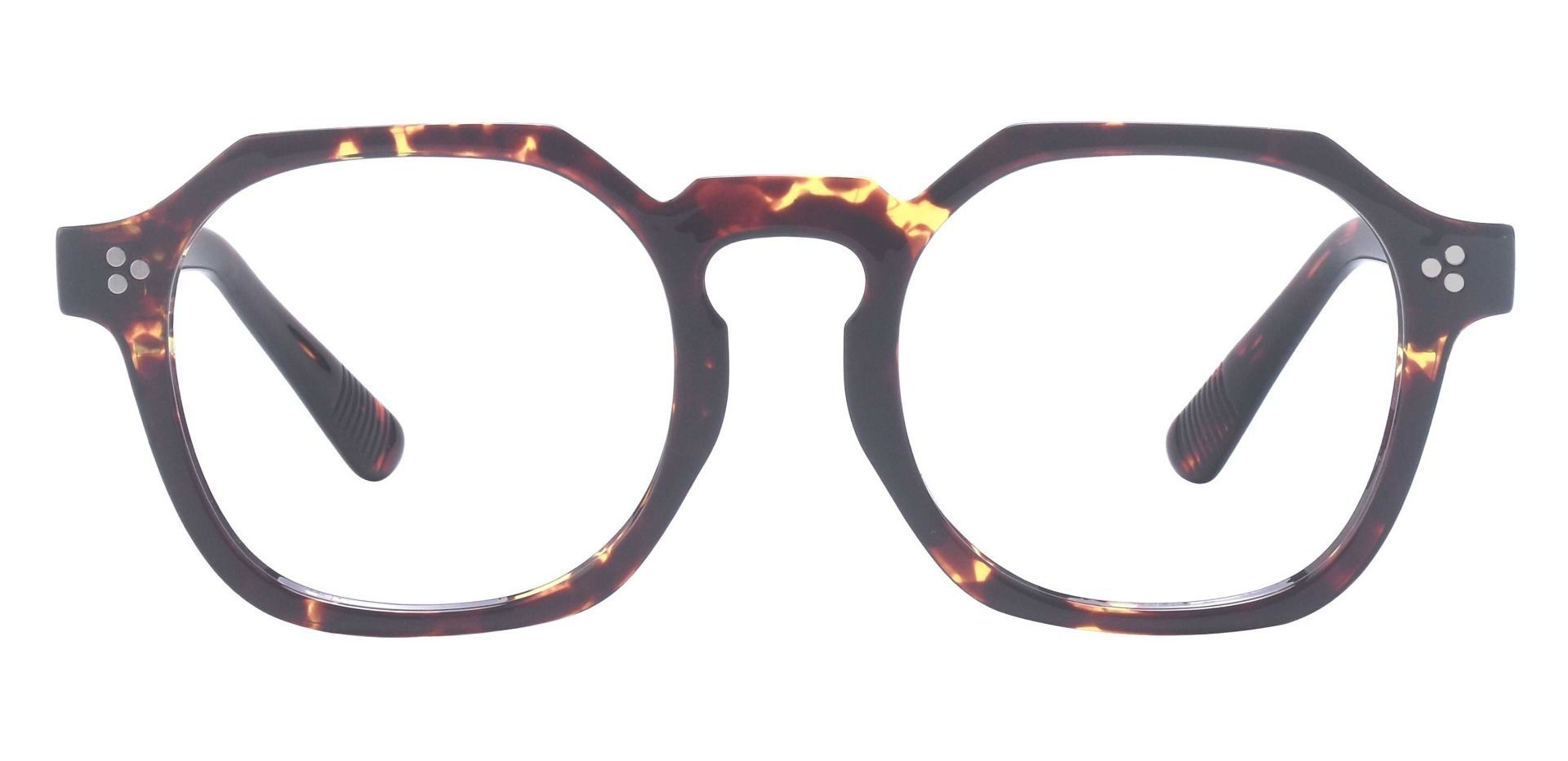 Bisbee Geometric Prescription Glasses - Tortoise